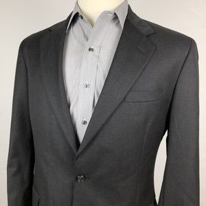 H. Freeman & Son Blazer Sport Coat 40L Dark Gray